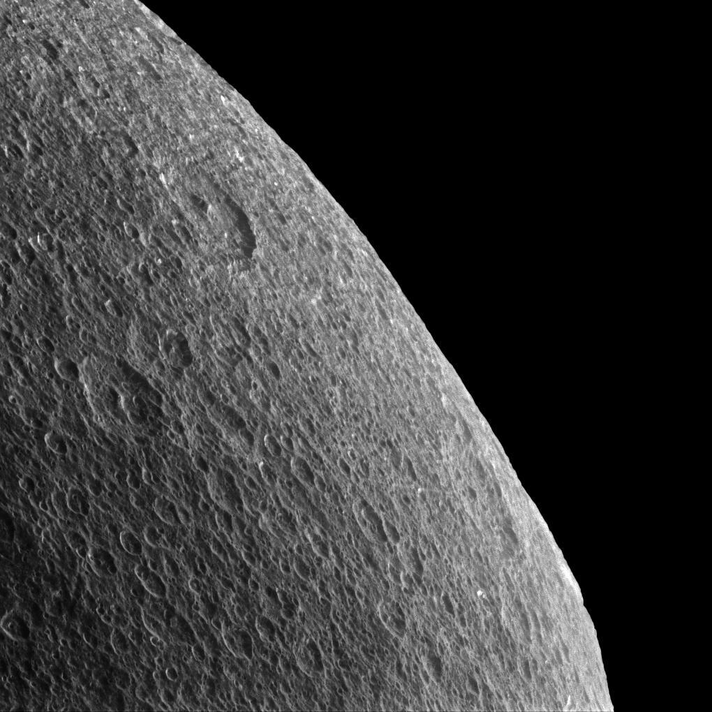 Saturn's moon, Rhea