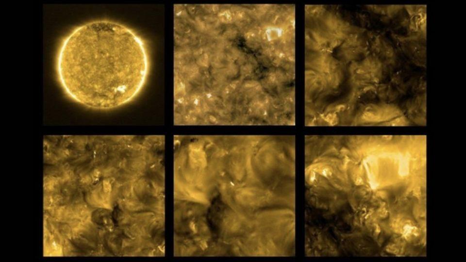 Solar Orbiter Pictures